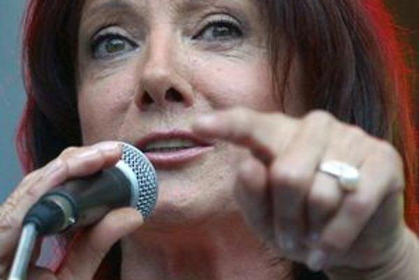 Marie Rottrová dnes zaspieva v prešovskom PKO.