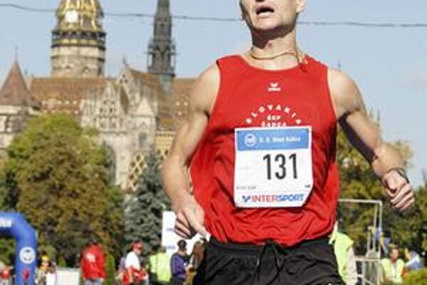 Peter Tichý mal v Košiciach zaujímavé bežecké jubileum.