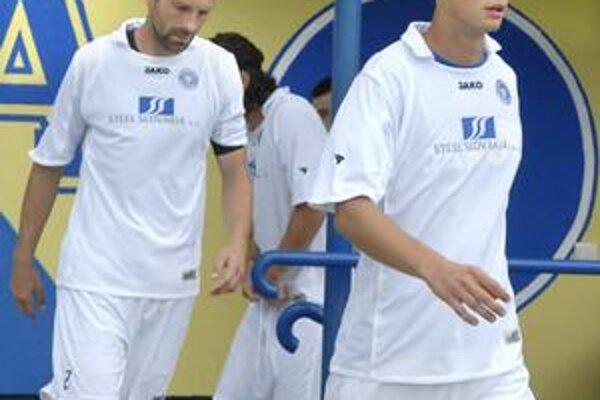Martin Kováč (vpravo) korunoval moldavskú eufóriu víťazným gólom.