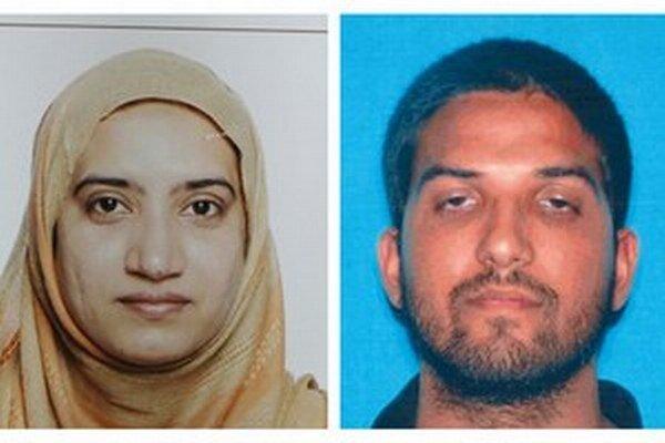 Dvojica strelcov - Syed Farook a jeho manželka Tashfeen Maliková.