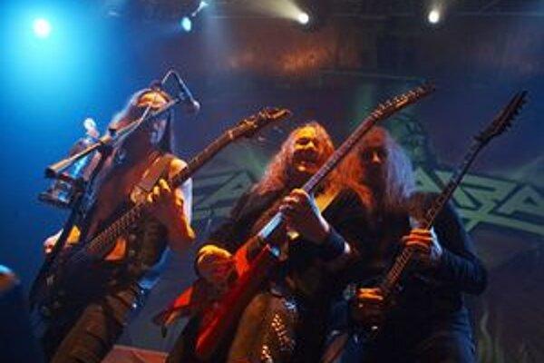 Nemecké metalové legendy z kapely Gamma ray dnes hrajú v Prešove.