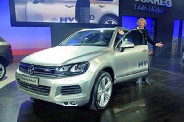 Nový Volkswagen Touareg. Predstavenie nového touaregu v Mníchove moderoval známy moderátor Thomas Gottschalk.
