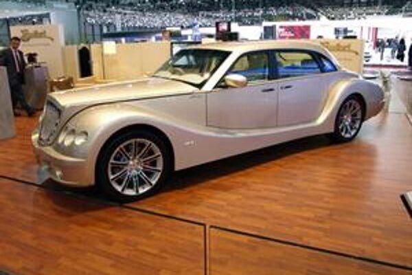 Luxusná limuzína Bufori Geneva. Malajzijská firma Bufori pomenovala vozidlo názvom Geneva na počesť mesta, v ktorom má svetovú premiéru.