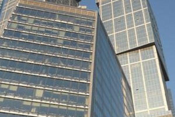Moskovský komplex City of Capitals. Vyššia veža tohto komplexu, nazvaná Moskva, má výšku 301,6 m a je najvyššou európskou budovou.