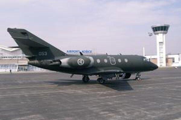 Dassault Falcon 20ECM. Nórske vojenské letectvo má dve takéto lietadlá, vystrojené na rádioelektronický boj.