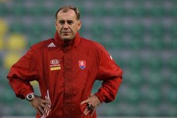 Vladimír Weiss. Štátny tréner rozvíril hladinu svojím vyhlásením.