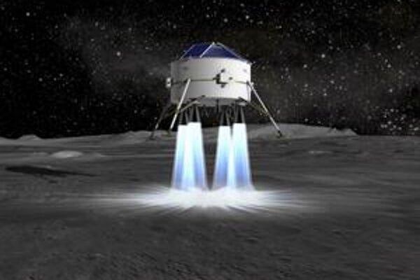 Kresba mesačnej sondy firmy EADS Astrium. Nemecko by mohlo vyslať sondu na Mesiac do roku 2015.