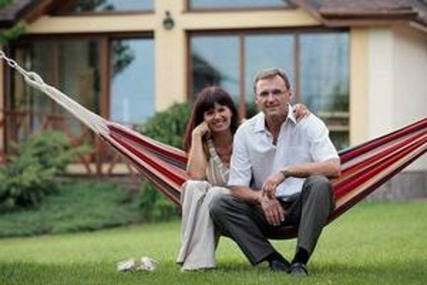 Láska z kancelárie. Andy Timková a jej partner Stano Pavlík sa do seba zamilovali v práci.