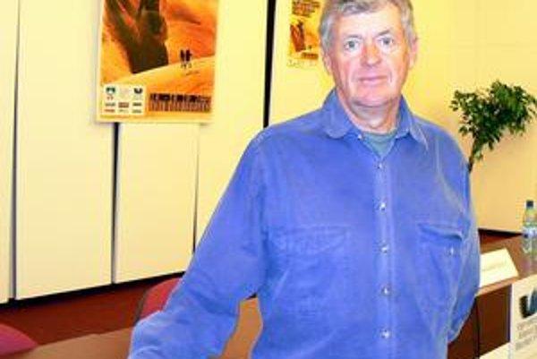 Zanietený filmár Michael Dillong. Austrálčan, ktorého so severným Slovenskom už spája oveľa viac ako len obyčajné sympatie.