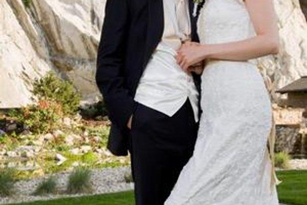 S manželkou. Katku považuje za ženu svojho života, s ktorou túži mať veľkú rodinu.