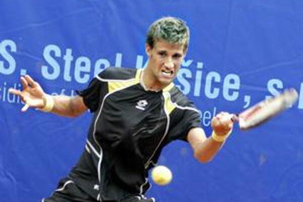 Martin Kližan. Včera vyhral dva zápasy.