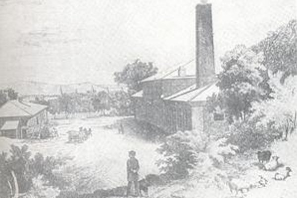 Klinčikáreň. Po zániku papierne v Čermeli, začali vyrábať v malej továrni klinčikárni - klince aj stroje pre poľnohospodárstvo.