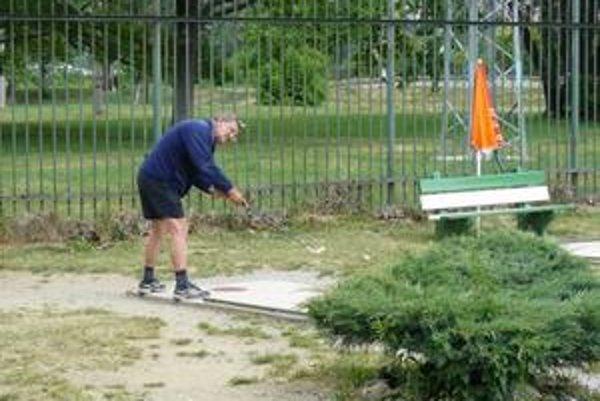 Pavol Vrchovinský reprezentuje košický GK Bankov roky.