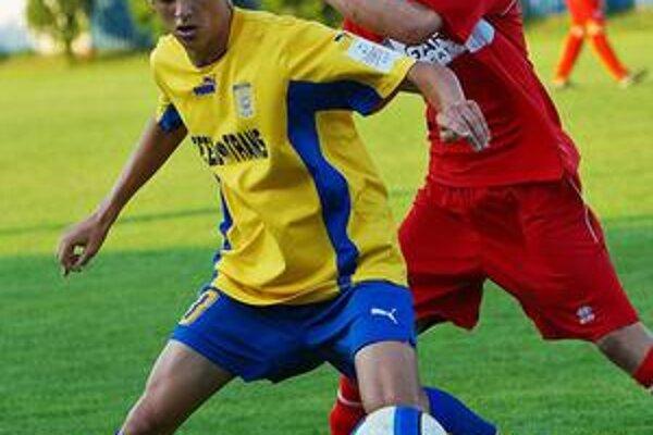 Uroš Matič. MFK Košice má tretieho mládežníckeho reprezentanta na záverečnom turnaji ME.