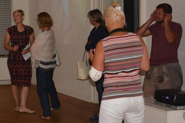 Rožňavské radiály. Audiovizuálna výstava.