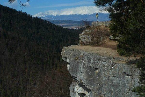 Tomášovský výhľad je jedným z najväčších lákadiel Slovenského raja.