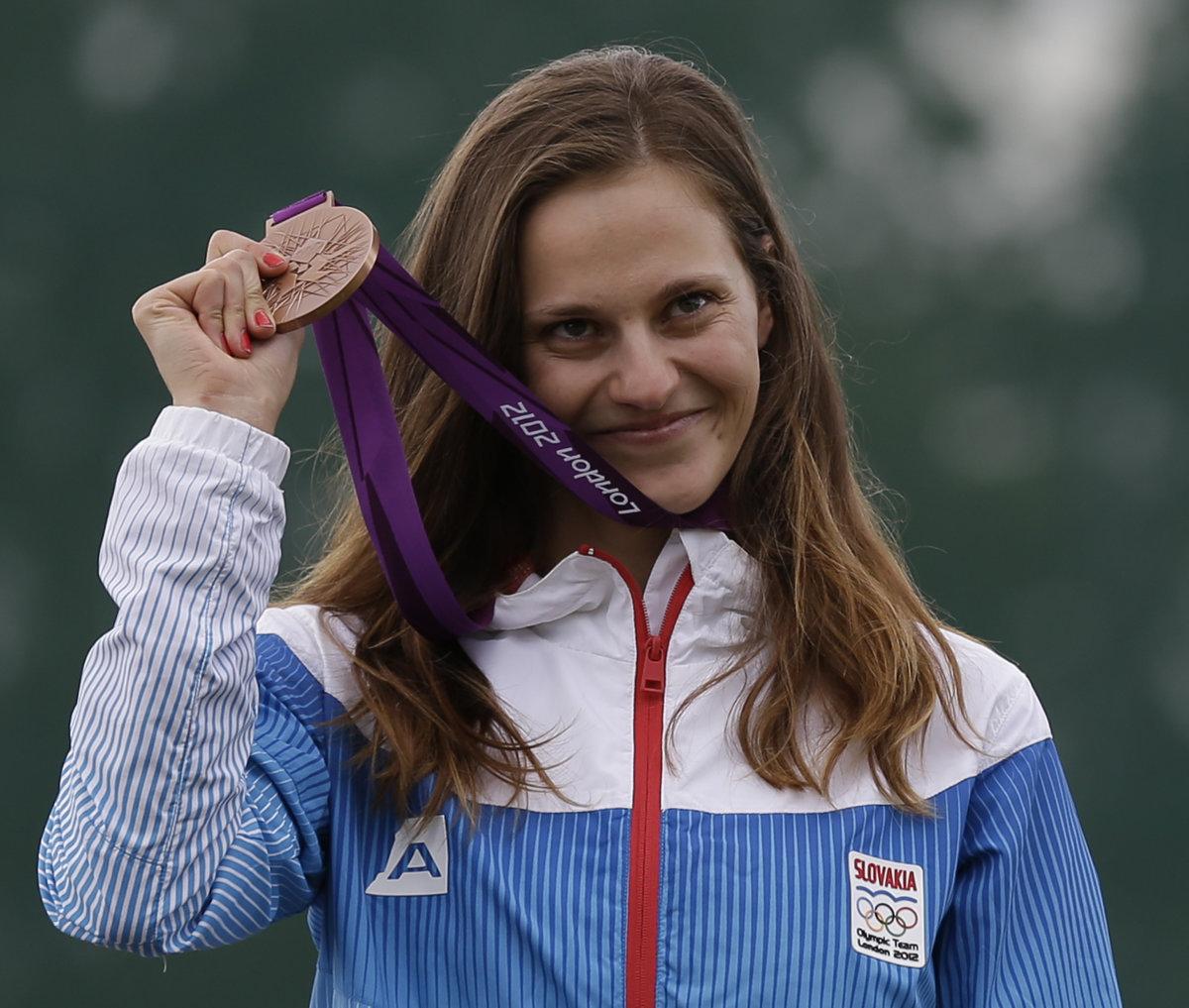 54c3d9f02 Danka Barteková je jedinou slovenskou športovkyňou, ktorá bude v Riu  obhajovať medailu z predchádzajúcich olympijských