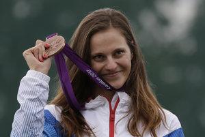 Danka Barteková je jedinou slovenskou športovkyňou, ktorá bude v Riu obhajovať medailu z predchádzajúcich olympijských hier v Londýne.