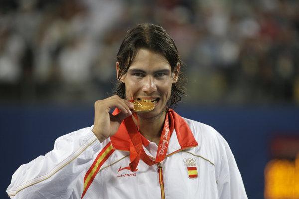 Rafael Nadal už v minulosti získal olympijské zlato. Podarilo sa mu to v roku 2008 v Pekingu.