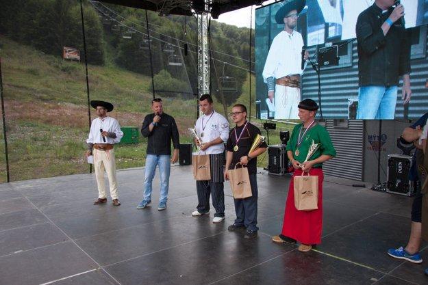 Víťazní šéfkuchári Gurmánfestu