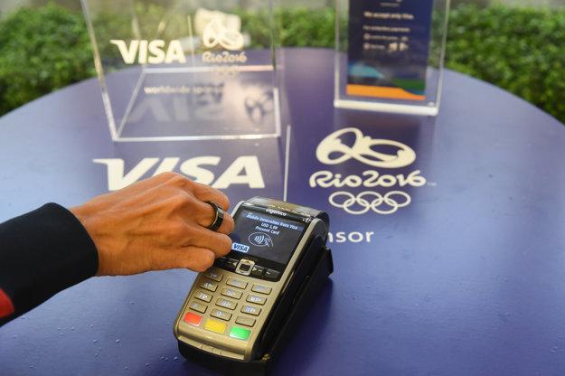 Prsteň na bezkontaktné platby.