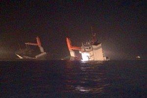 Nehoda sa stala neďaleko belgického prístavu Zeebrugge.