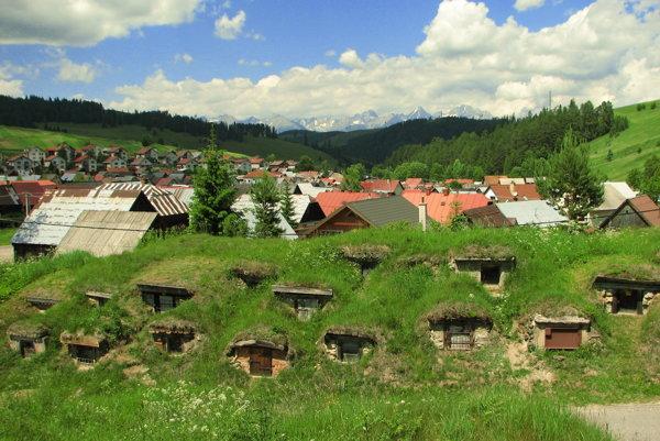 Malebná Liptovská Teplička.