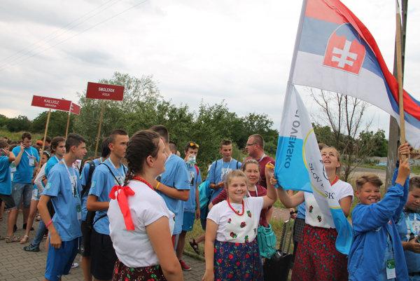 Aj Oravci reprezentovali Slovensko.