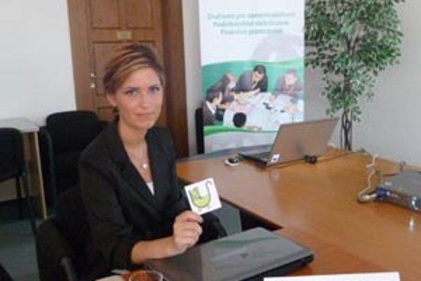 Romana Lišková ponúka turistiku pre ma a otcov s malými deťmi.