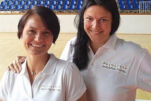 Katarína Hricková a Lucia Lásková.