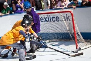 Detský hokej je vážna vec.