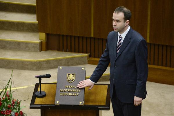 Poslanec Ján Podmanický.