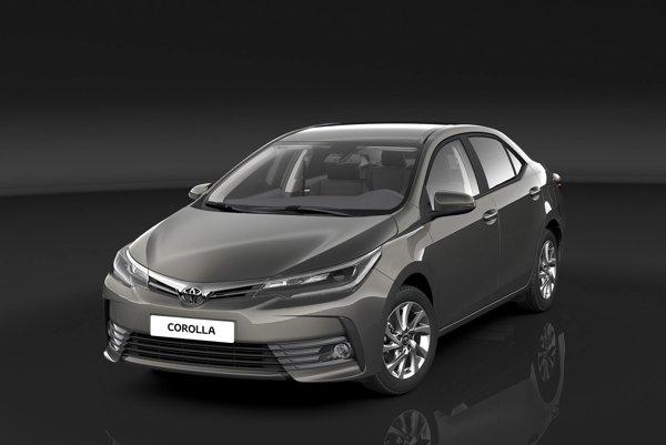 Toyota Corolla je svetovým bestsellerom. Modernizovaná Corolla má zaujímavo tvarovanú prednú časť s veľkou spodnou mriežkou a užšou hornou mriežkou, spájajúcou nové svetlomety.