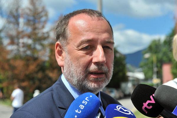 Štátny tajomník ministerstva zdravotníctva Tomáš Špánik-