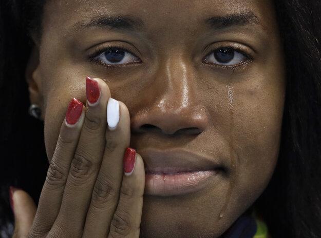 Američanka sa po historickom úspechu neubránila slzám.