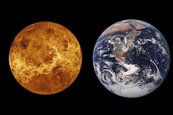 Merkúr, Venuša, Zem a Mars.