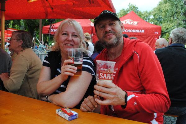 Pivná akcia prilákala do centra Spišskej Novej Vsi množstvo ľudí.