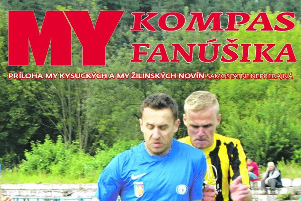 Titulka magazínu Kompas fanúšika.