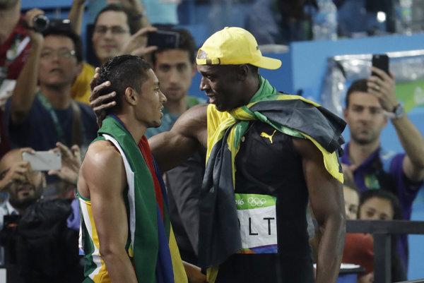 Usaina Bolta Van Niekerkov výkon neprekvapil. Sám mu ho pri tréningu predpovedal.