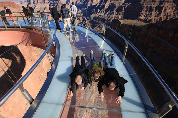 Sky Walk, Grand Canyon.