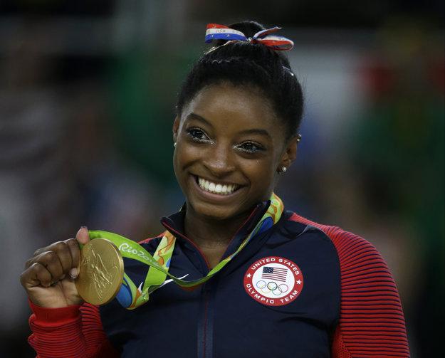 V Riu de Janeiro vybojovala Simone Bilesová päť medailí, z toho štyri boli zlaté.