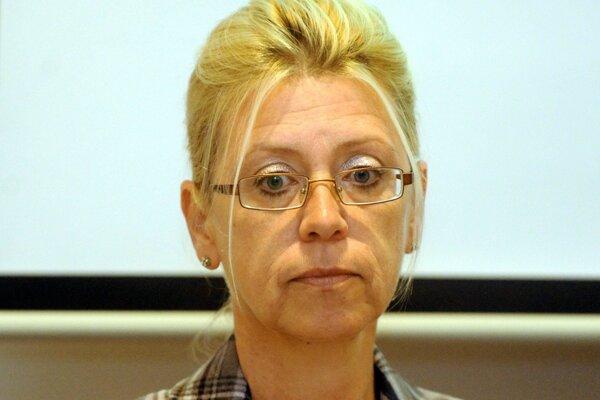 Prezidentka asociácie Katarína Kafková.