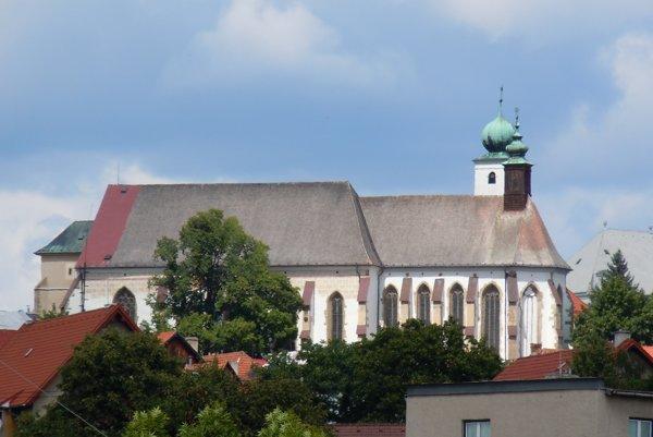 Starý minoritský kostol. Patrí knajvýraznejším architektonickým dominantám Levoče.