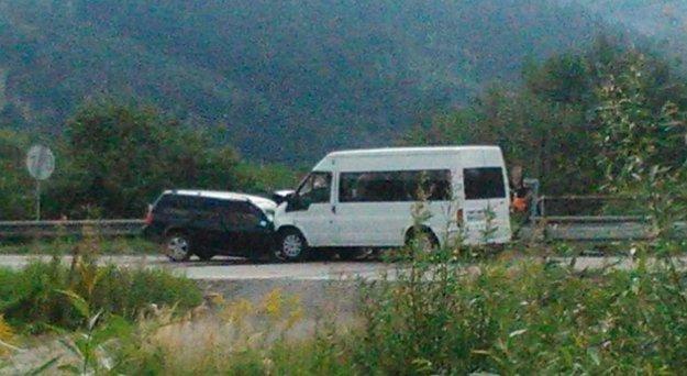 Dopravná nehoda v Kysuckom Lieskovci.