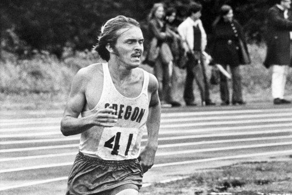 Americká bežecká legenda Steve Prefontaine.