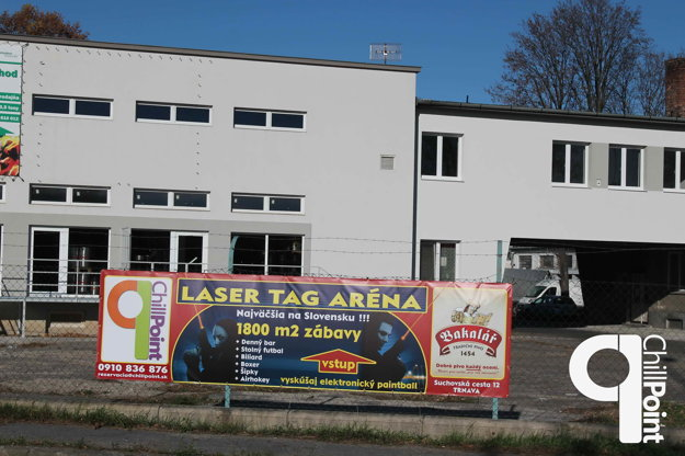 Laser arénu nájdete na Suchovskej ceste.