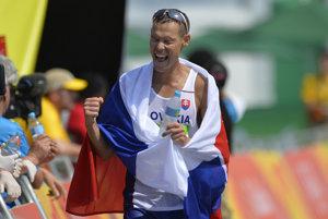 Matej Tóth získal v roku 2016 zlatú olympijskú medailu v chôdzi na 50 km v Riu de Janeiro.