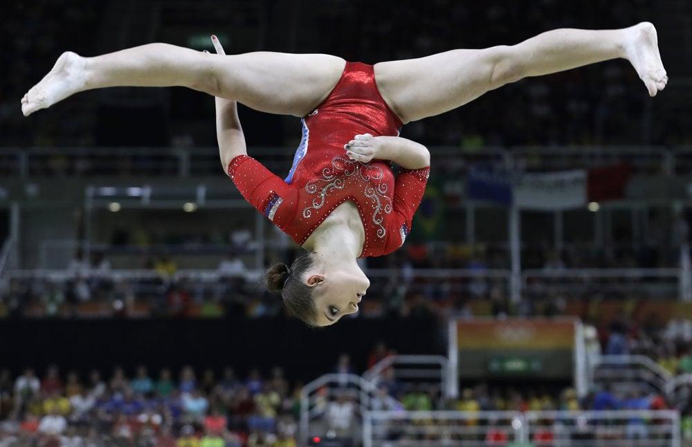 Gymnastika, Ruska Alija Mustafinová.