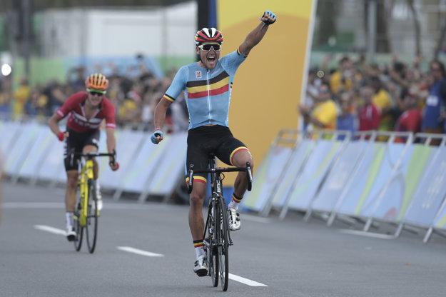 Van Avermaet ovládol preteky v Riu.
