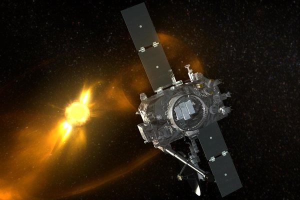 Ilustrácia sondy typu STEREO.